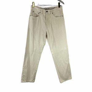 """Ermenegildo Zegna pants jeans cream off white 33"""""""